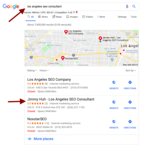 Los Angeles SEO Consultant