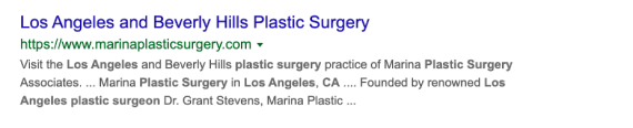 plastic surgeon marketing agency